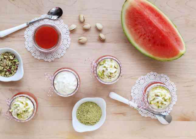 Sicilian Watermelon Pudding (Gelo di Melone) // FoodNouveau.com