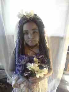 The Corpses Bride DIY Halloween Costume Idea