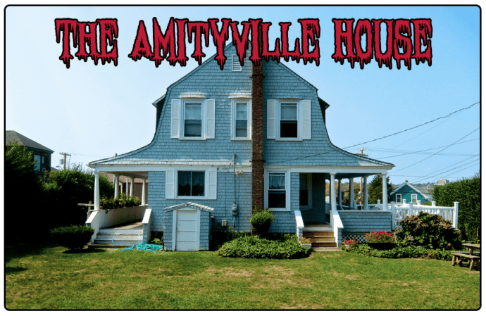 amityville house haunted