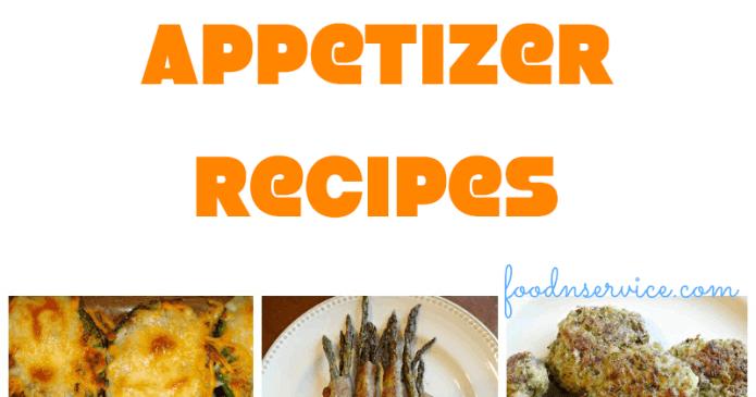 20 Amazing Gluten Free Appetizer Recipes