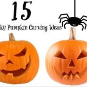 15 DIY Spooky Halloween Pumpkin Carving Ideas