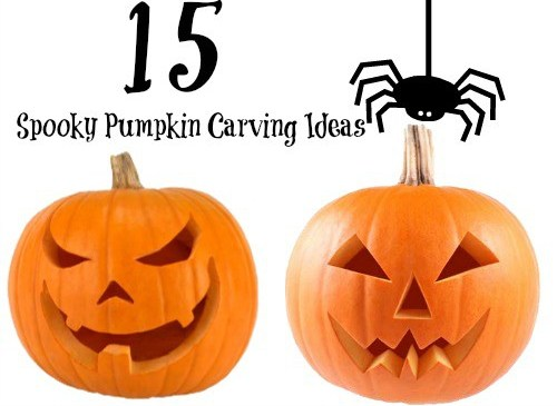 15 DIY Spooky Halloween Pumpkin Carving Ideas