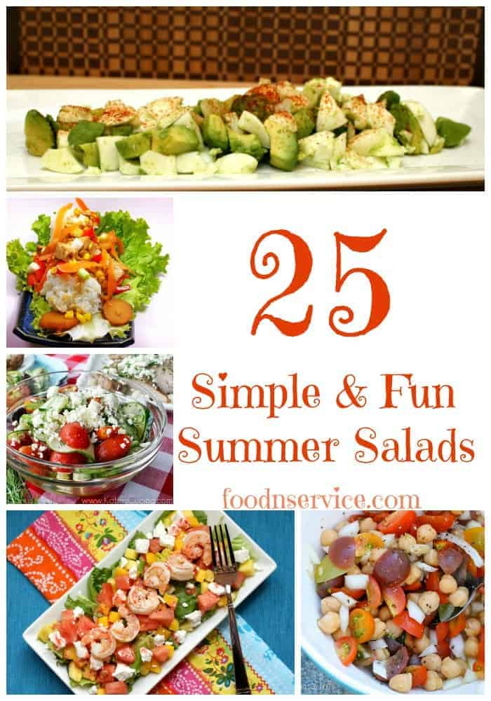 25 Fun And Easy Diy Pom Pom Crafts To Make: 25 Simple & Fun Summer Salad Recipes