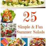 25 Simple & Fun Summer Salad Recipes