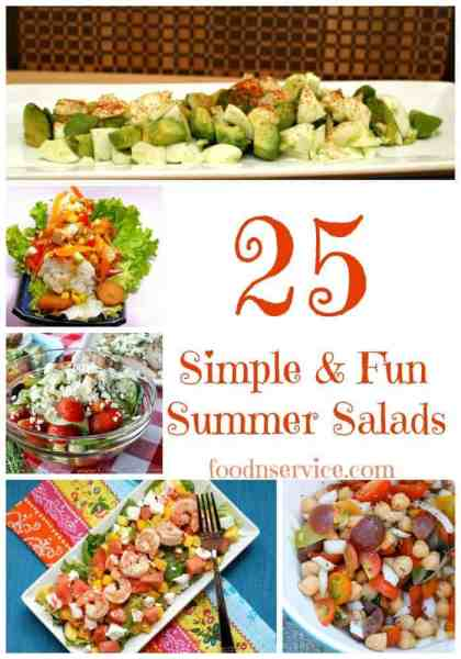 25 simple & fun summer salad recipes that you and your family are gonna love!