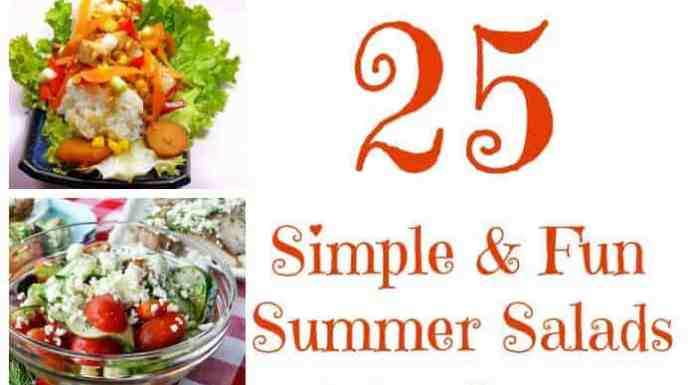 25 easy & fun summer salad recipes