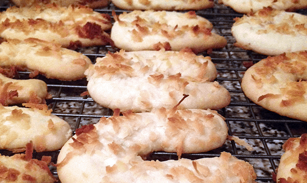 Coconut Melt Cookies Recipe