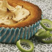 Gluten Free Lime Meringue Muffins