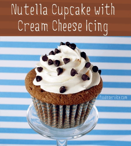 Nutella Cupcake recipe