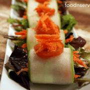 Cucumber Salad Wrap Recipe