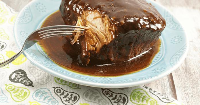 Crockpot BBQ Pork Roast
