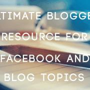 Blog Post & Facebook Post Headliners