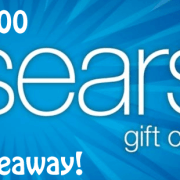 Sears $100 GiftCard Giveaway!