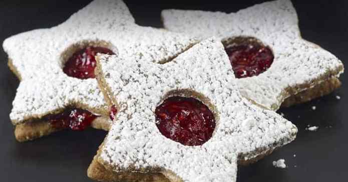Maria Puck's Linzer Cookies