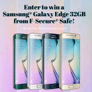 Samsung Galaxy Edge S7 32GB Giveaway! #FSecureSAFE