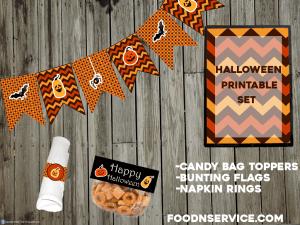Free Halloween Party Printable Set