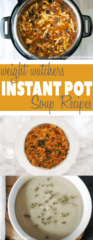 You are going to need to make all of these Instant Pot Weight Watchers Soup Recipes! They're perfect to make all year long, and all have fabulous FreeStyle Points! #weightwatchers #instantpot #instantpotweightwatchers #freestylepoints #freestyle #instantpotrecipes #soups #instantpotsoups