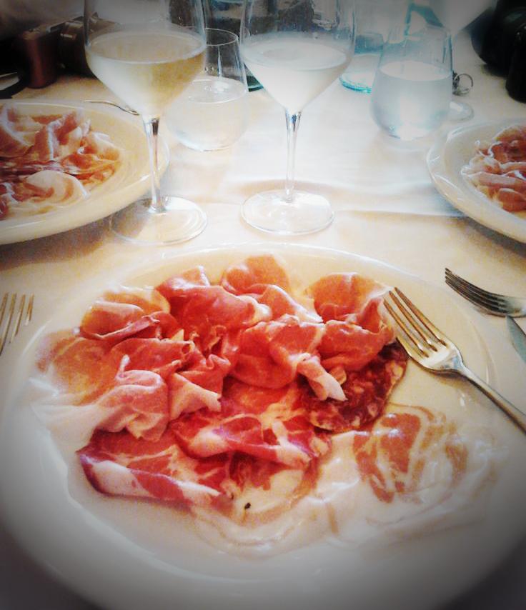 FWT's fab Parma Lunch spread