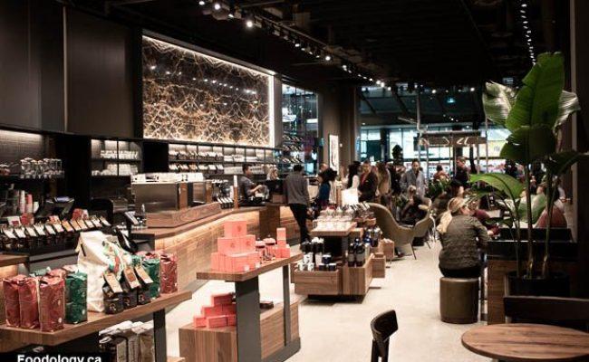Sneak Peek Starbucks Reserve Bar In Downtown Vancouver