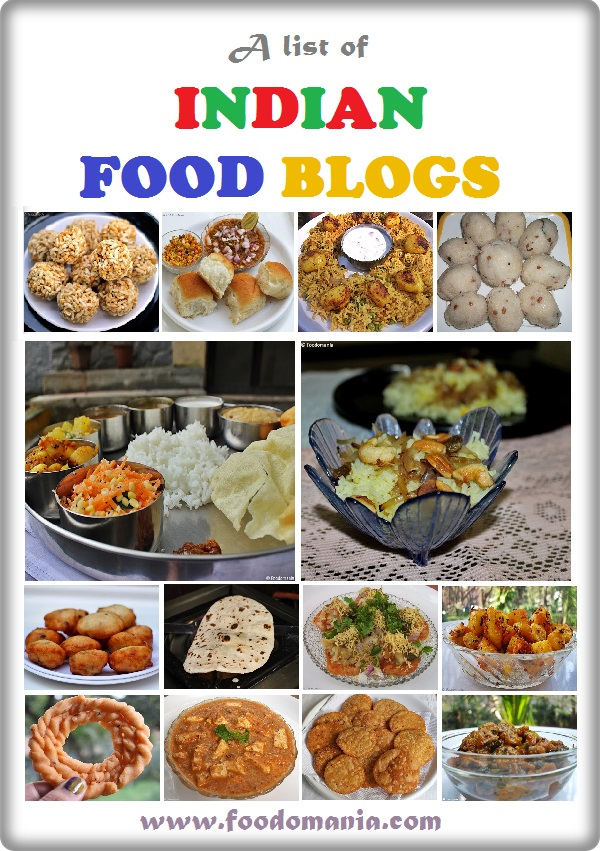 Indian Food Blogs | List of Best Indian Food Bloggers