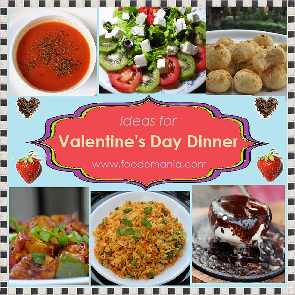 Valentine 39 s day dinner ideas recipe roundup dinner for Valentines dinner party ideas