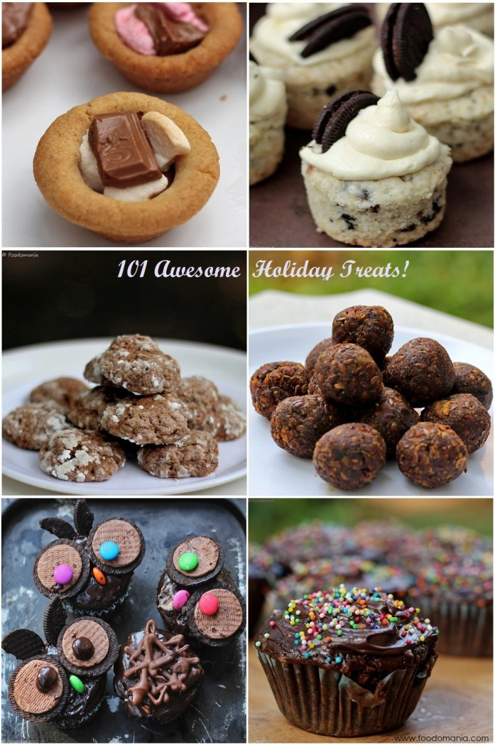 101 Awesome Holiday Treats Recipes | Collection by Kavitha Ramaswamy of Foodomania.com