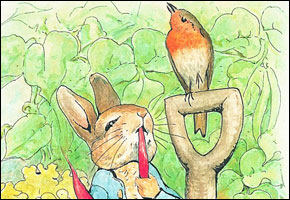 Peter Rabbit - credit © Frederick Warne & Co., 2009