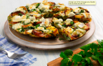 Watercress and Goat's Cheese Frittata