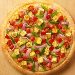 Chatpata Paneer Pizza