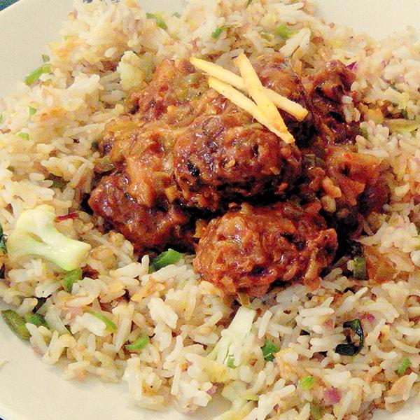 Manchurian Rice