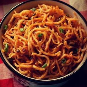 Veg Schezwan Noodles