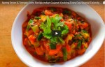 How to Cook Spring Onion and Tomato Curry Recipe, Authentic Indian Curry Recipe, Village Style Cooking, Best Indian Curry Recipe.