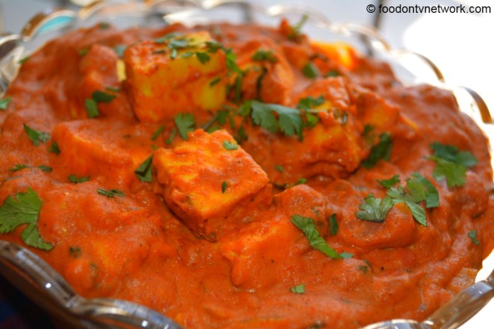 Paneer butter masala photo