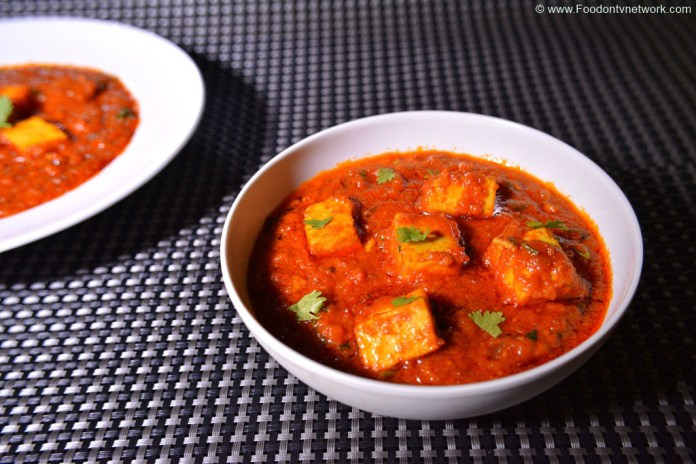 best paneer butter masala recipe. best north indian recipe