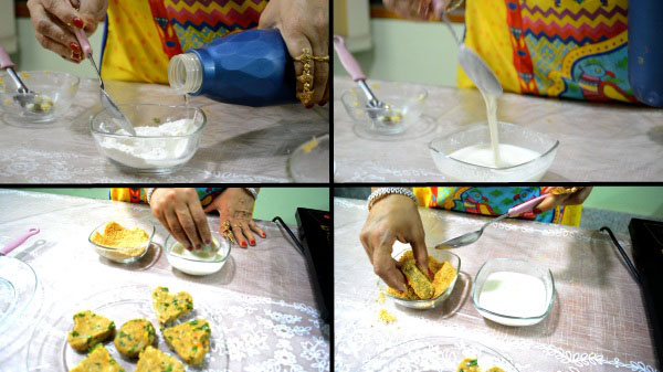 Cheese Corn Cutlet Recipe. Sweet Corn Cutlet Recipe. Easy Cheese Corn Cutlet Recipe.