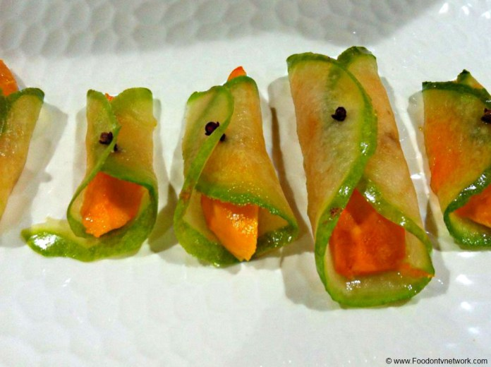 Mango Cucumber Rolls Recipe. Exclusive Indian Recipe. Starter Recipe. Mango Rolls Recipe.