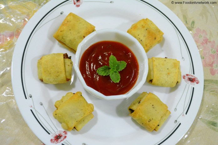 Matar Paneer Pockets Recipe. Matar Paneer Fritters Recipe. Quick Matar Paneer Pockets Recipe. Indian Fritters Recipe.