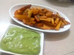 Sweet Potato Fries Recipe. Fasting Recipe. Indian Snacks Recipe. Sweet Potato Fries for Fasting Recipe.
