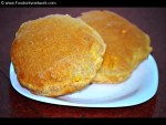 Besan Poori Recipe, Besan Puri Recipe, Besan ki Poori Recipe, Gram Flour Puri Recipe, Indian Flat Bread Recipe.