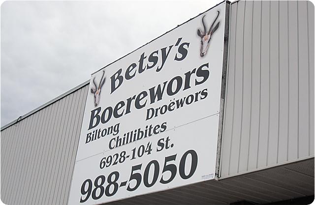 Betsy's Boerewors - Edmonton, AB (1/4)