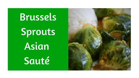 Asian Brussels Sprouts Sauté