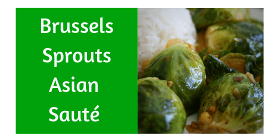 Asian Brussels Sprouts Sauté