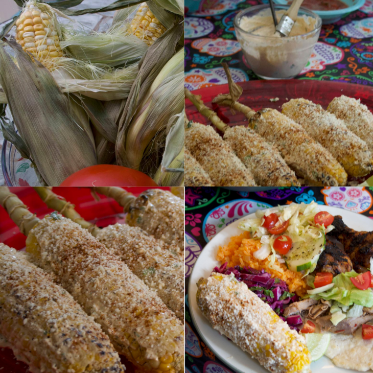 Elote at a glance.
