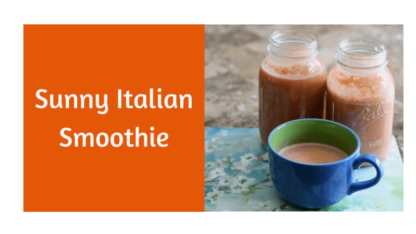 sunny Italian smoothie