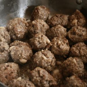 peanut meatballs