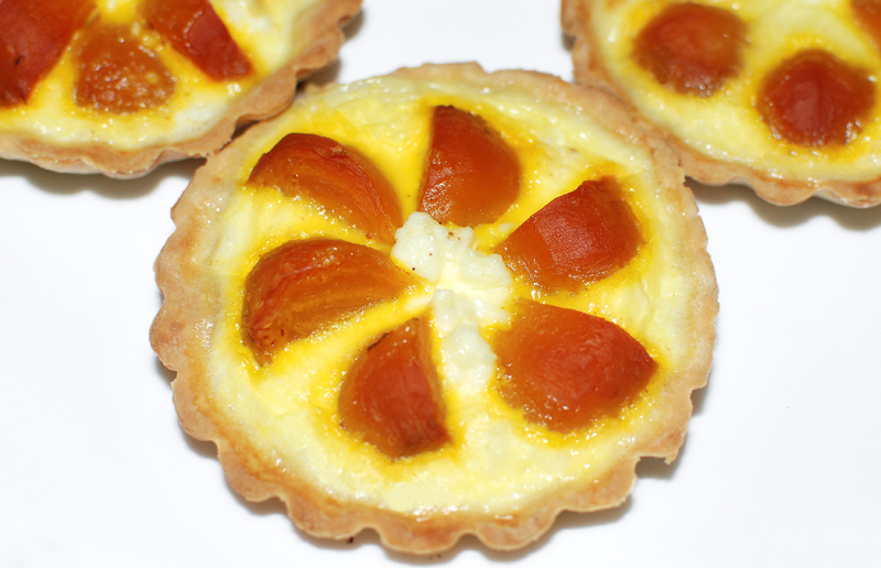 Golden Beet Tartlets