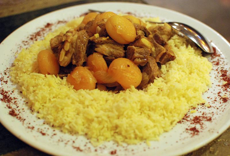 Azeri Cuisine - Chinar on the Island - Govurma Plov