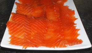 Baltic Cuisine - Cranberry and Dill Marinated Salmon