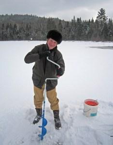 Adirondacks - Ice Fishing