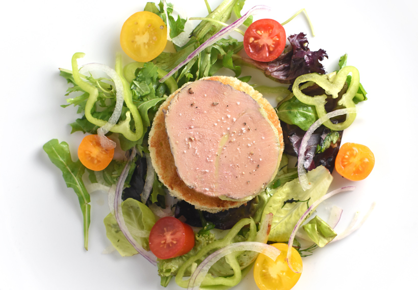 Hungarian Food - Duck Foie Gras Terrine